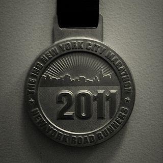 New York Marathon-Medal