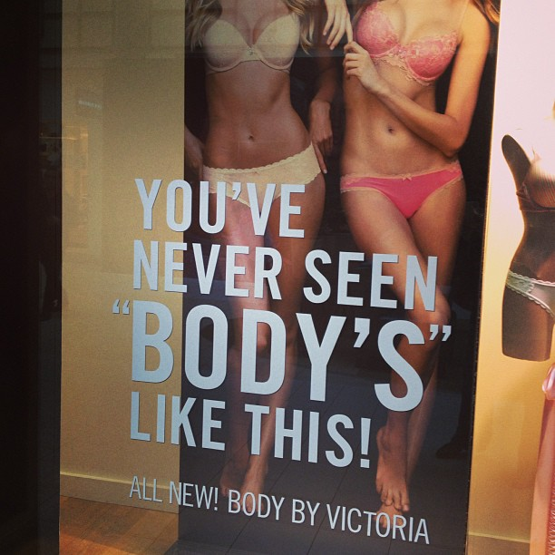 Lori Culwell Is Making Observations. : Victoria's Secret